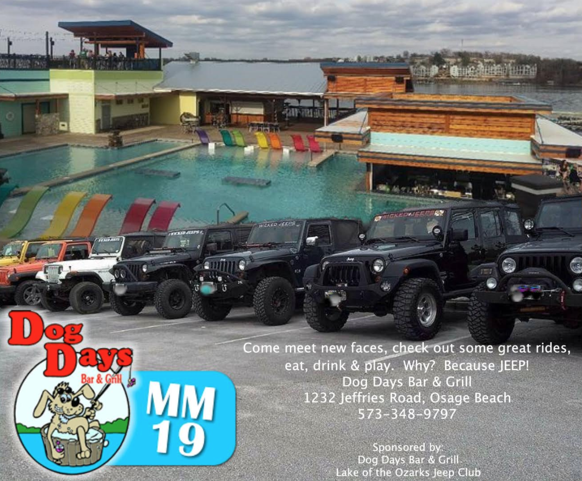 Jeep Tuesdays at Dog Days