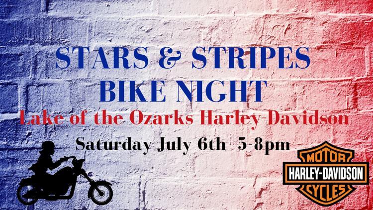LOZ Harley Bike Night Patriotic