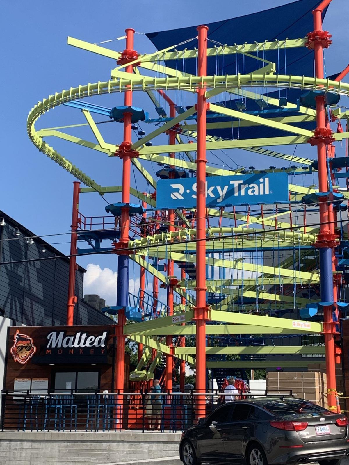 The Malted Monkey - Ropes Course