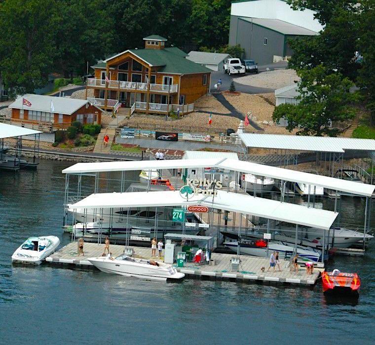 Kelly's Port Gas Dock