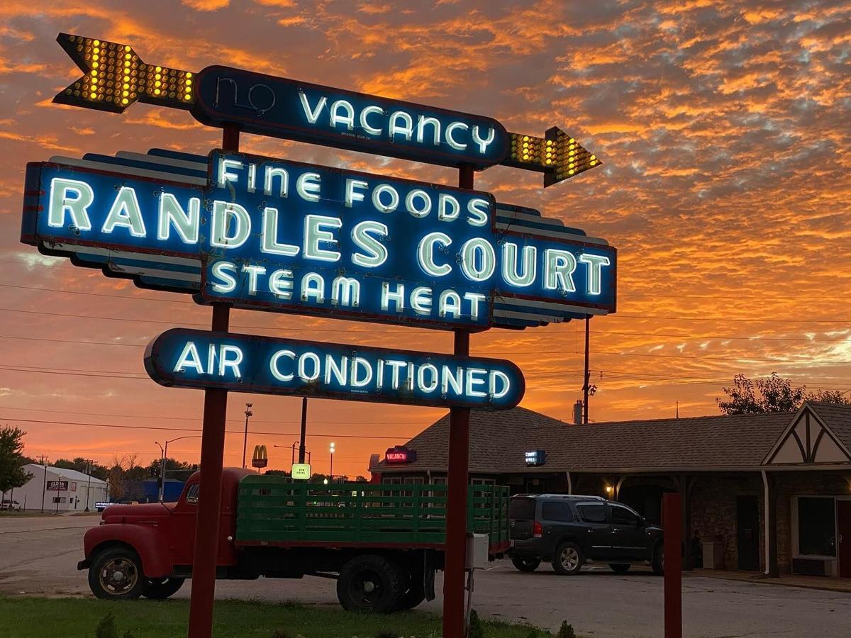 Randle's Court - Sunset