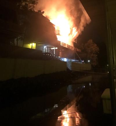 Fire at St. Moritz Condos - Lake of the Ozarks
