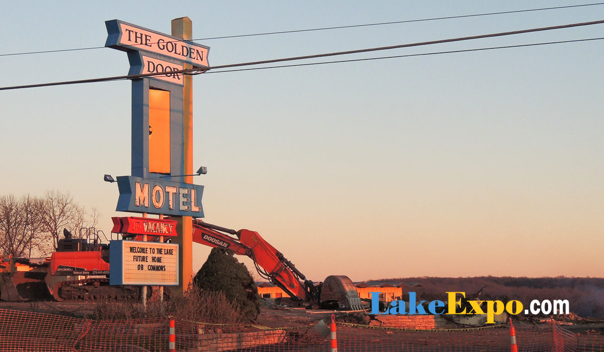 The Golden Door Motel Is Demolished At Lake Of The Ozarks & The Golden Door Motel Is Demolished At Lake Of The Ozarks | Lake of ...