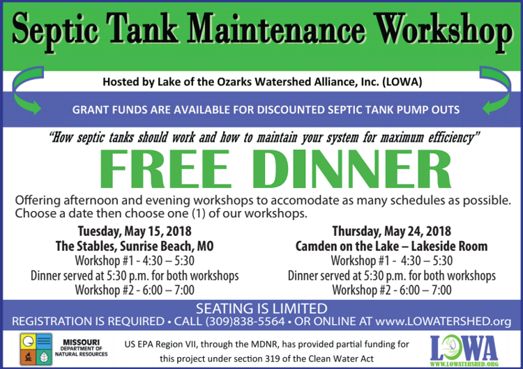Septic Tank Maintenance Workshop | Upcoming Events