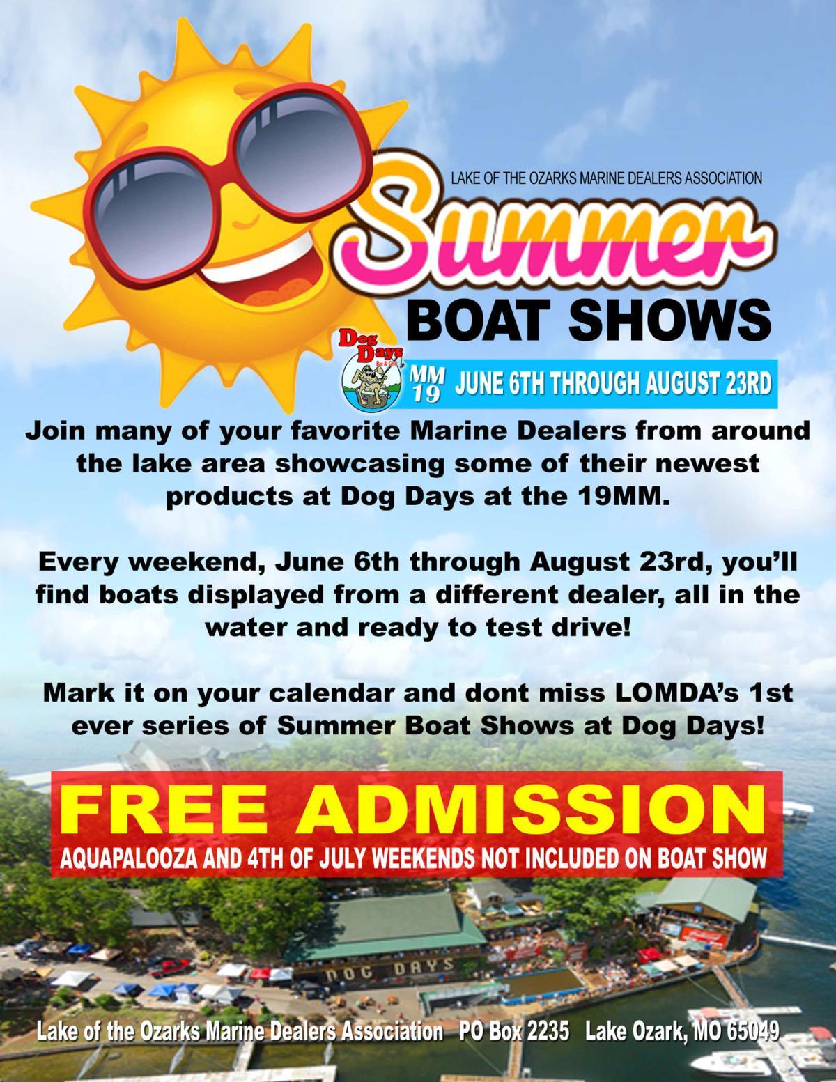 Mini Boat Show Flyer