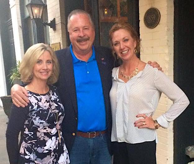 Dave, Megan, Lisa