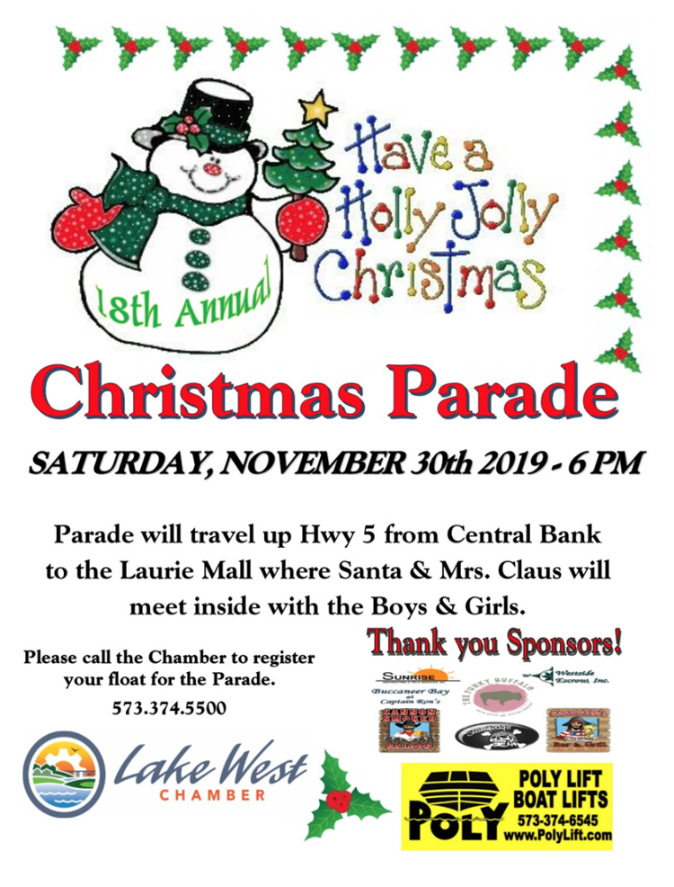 18th Annual Laurie Christmas Parade