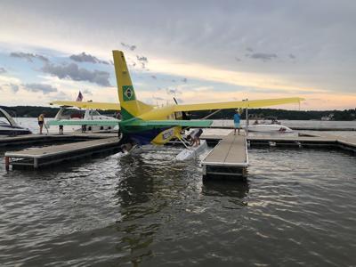 A Seaplane Lands At Margaritaville, Lake Of The Ozarks [VIDEO]