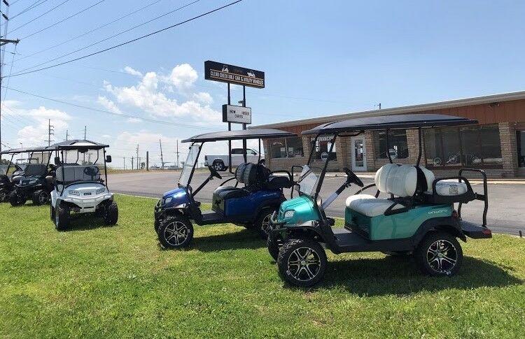 Clear Creek Golf Car
