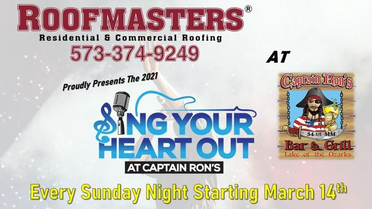 Roofmasters 2021 Sing Your Heart Out