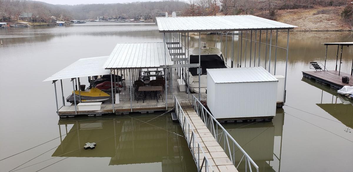 Dock On Lake Of The Ozarks