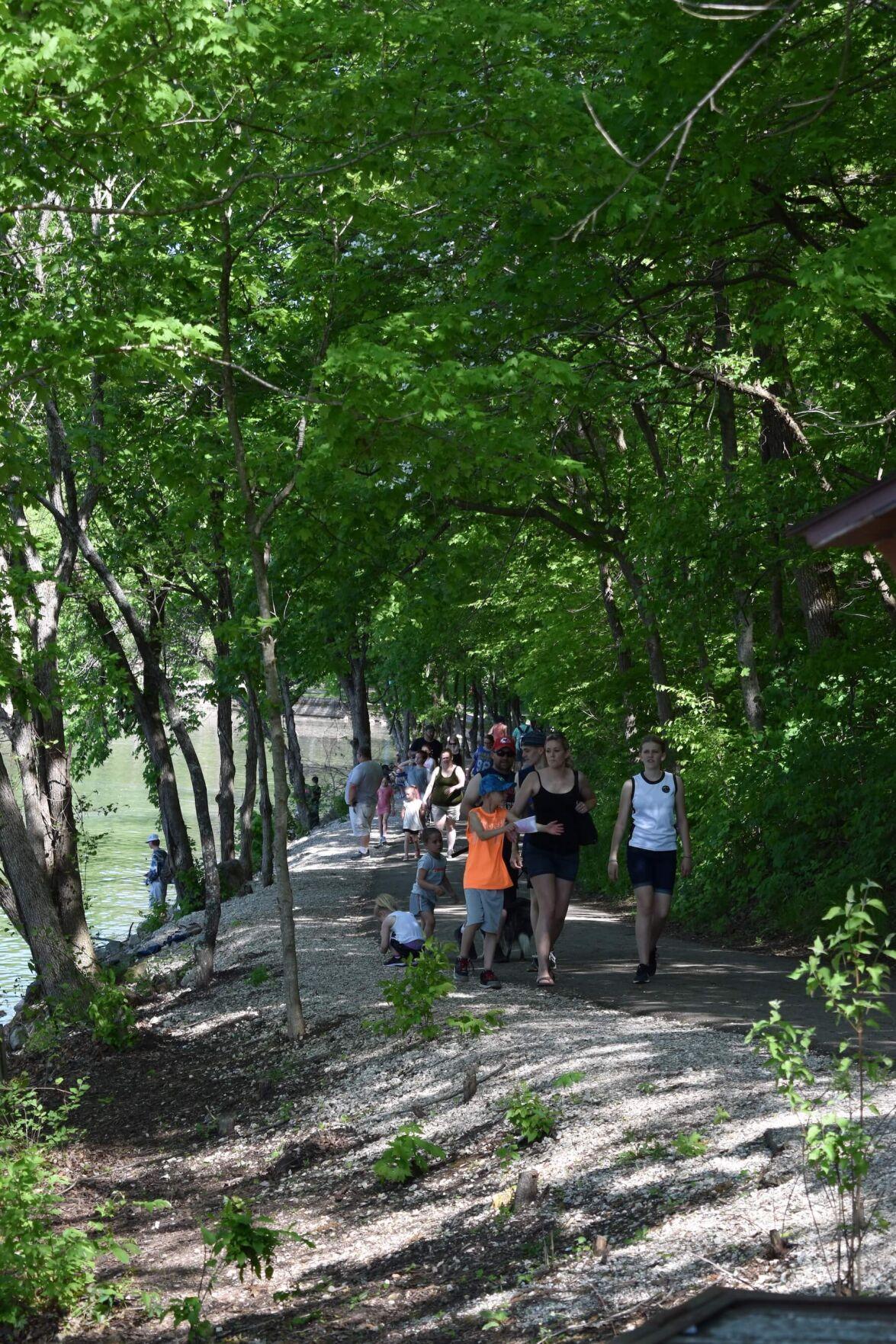 Hiking Ha Ha Tonka Trails