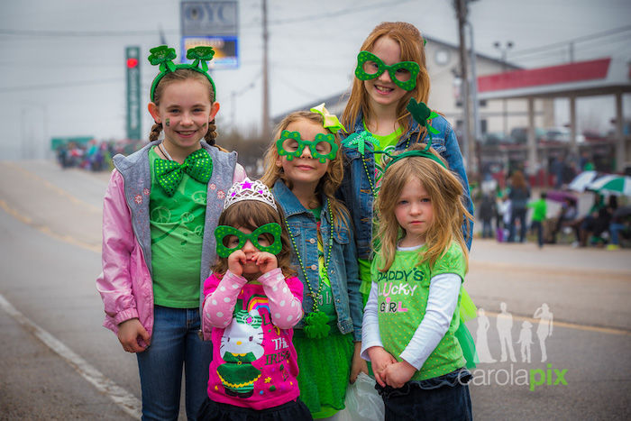 St. Patrick's Day Parade Lake Ozark Cute Kids