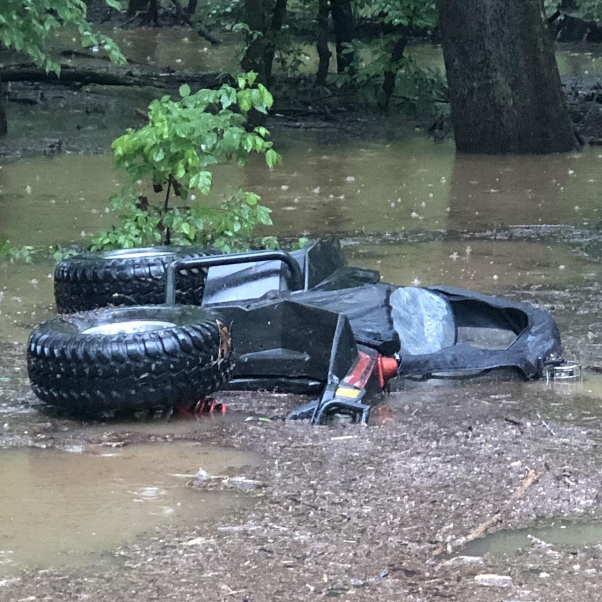 Flooded Roads, 60 MPH Winds Reported Over Two Days Of Storms