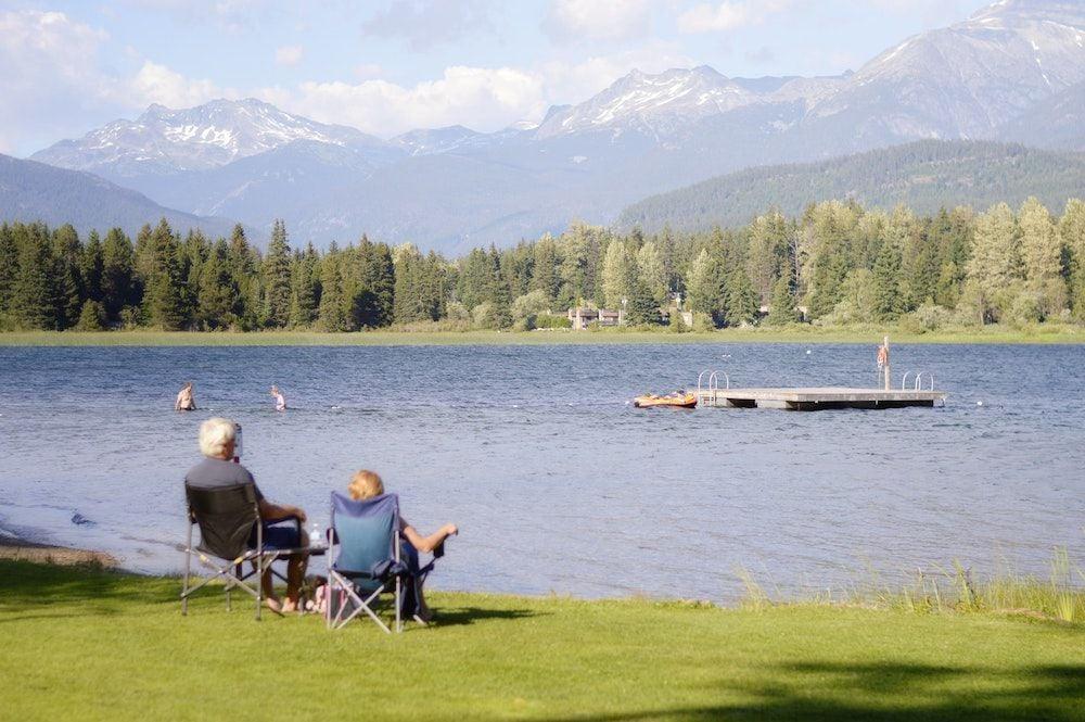 Retired People Lakeside