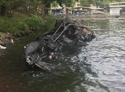 Boat Destroyed By Explosion On Lake Of The Ozarks