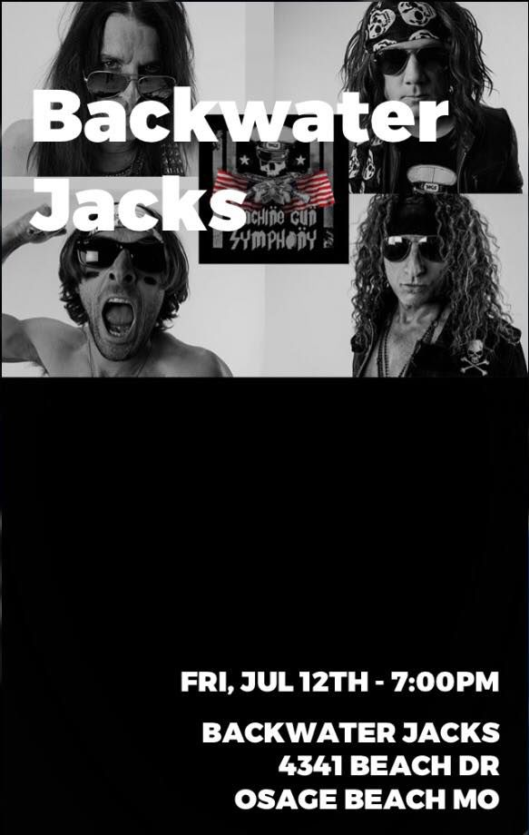 Machine Gun Symphony @ Backwater Jack's