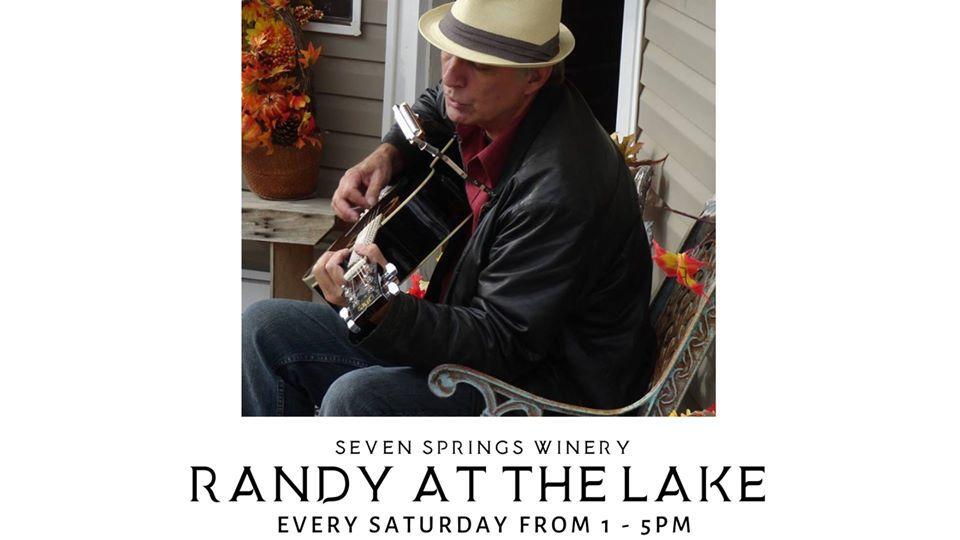 Randy at the Lake at Seven Springs Winery