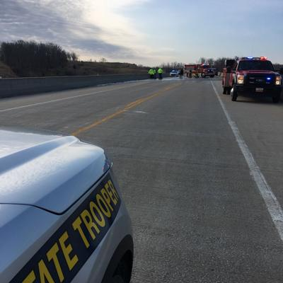 Scene of Fatal Crash on Highway 5 Niangua Bridge