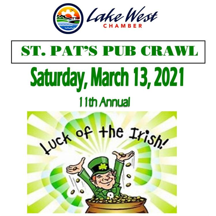 St. Pat's Pub Crawl 2021