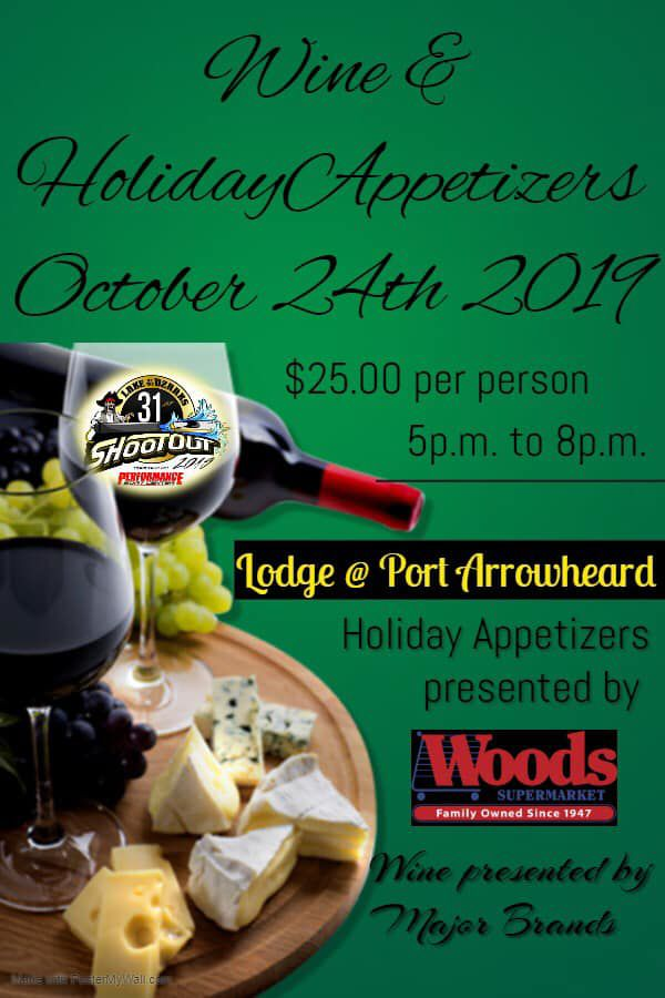 Wine & Holiday Appetizers