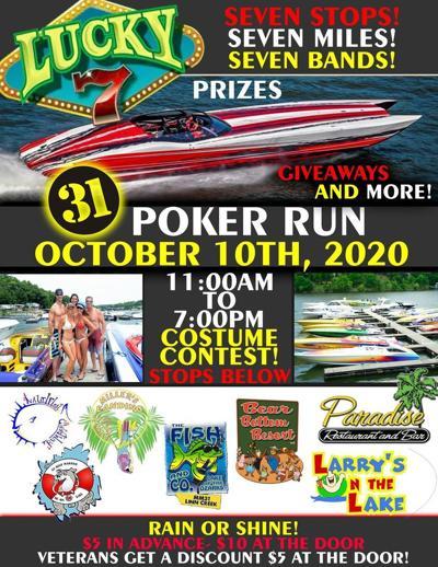 Lucky 7 Poker Run