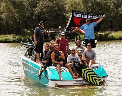 Wake For Warriors Veterans On The Water