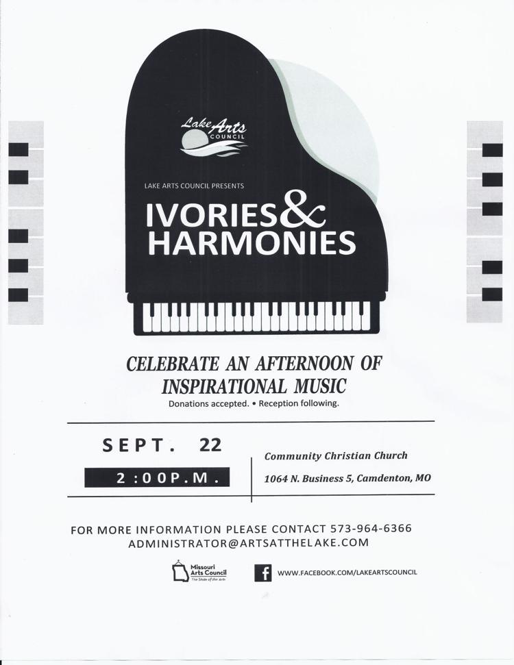 Ivories & Harmonies Flyer