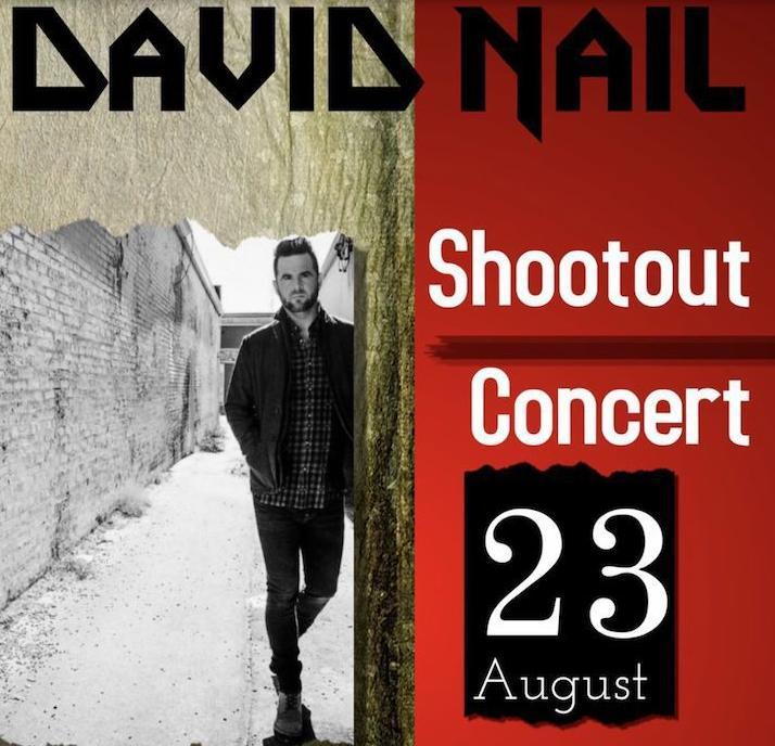 David Nail Flyer