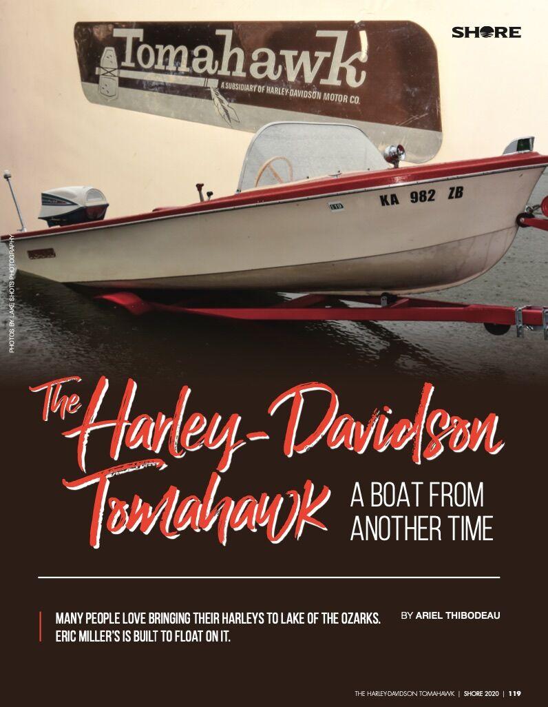 Harley-Davidson Tomahawk - Shore Magazine Article