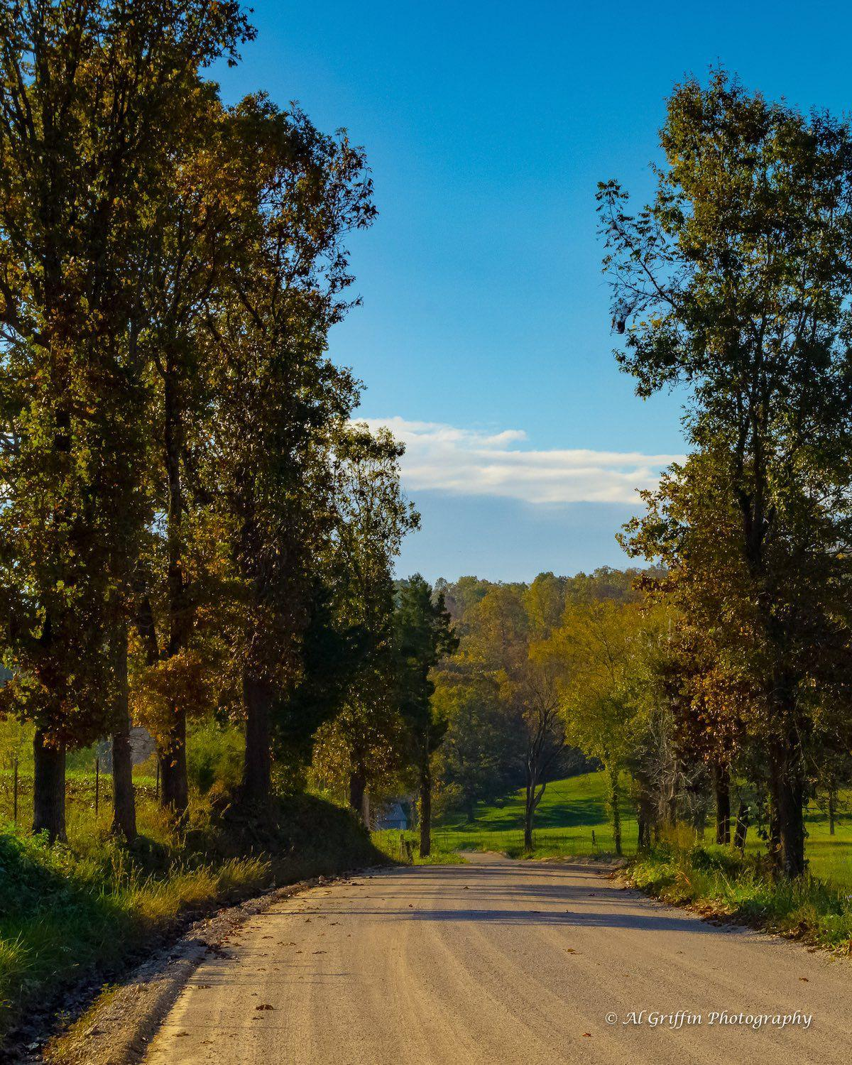 The Road to Shawnee Bluff Winery on the Niangua