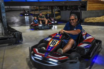 Fast-Paced Fun On Miner Mike's Electric Go-Karts