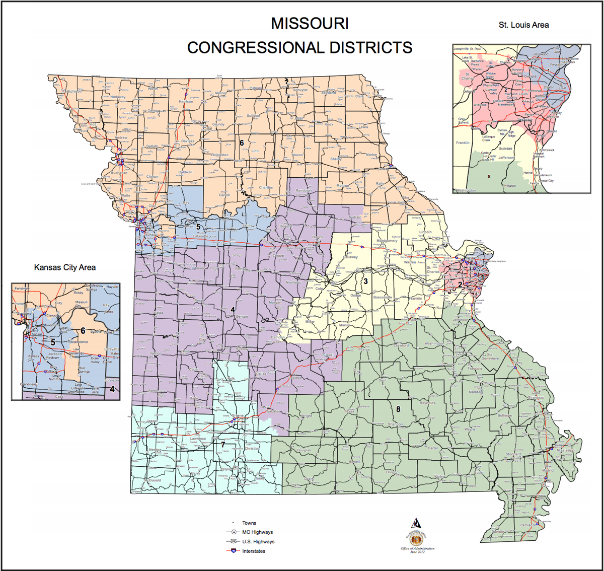 MO Congressional Districts