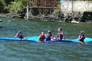 Kids On Lily Pad