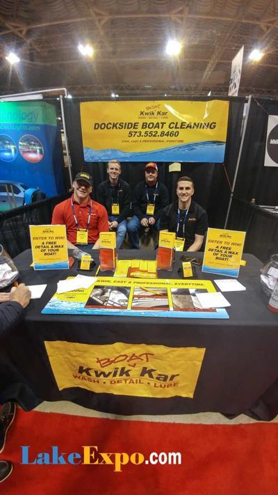 Kwik Kar Dockside Boat Cleaning - St. Louis Boat Show