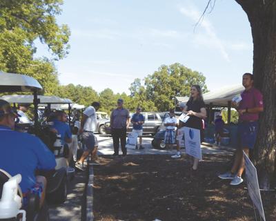 Start of Golf Tournament