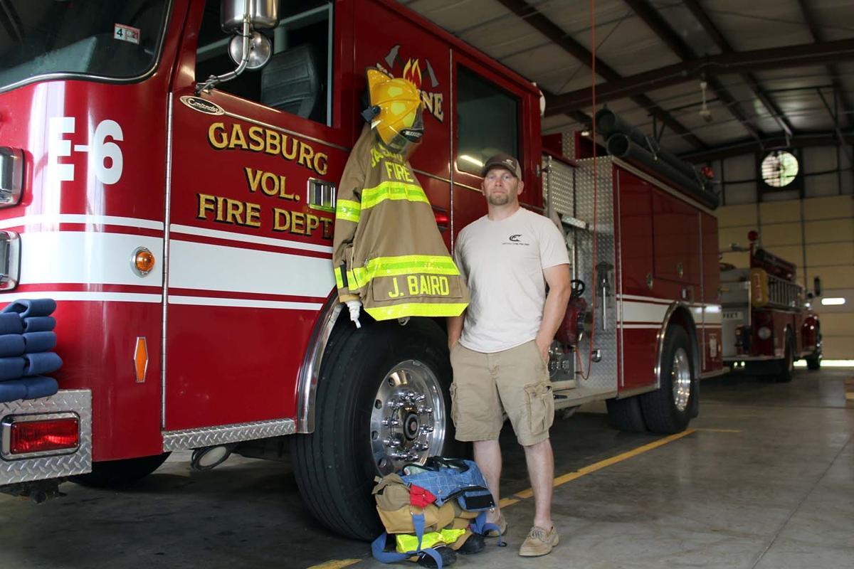 Joey Baird, Gasburg VFD