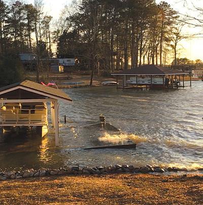 Spillways Open But Docks Are Sunk News