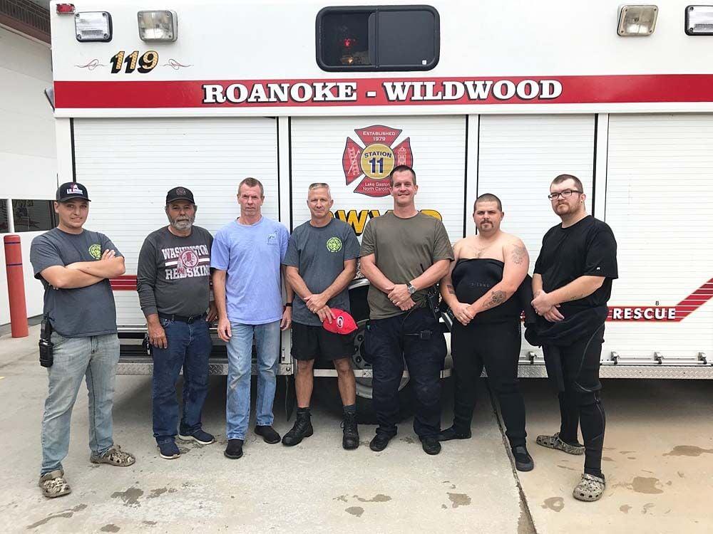 Roanoke-Wildwood dive team