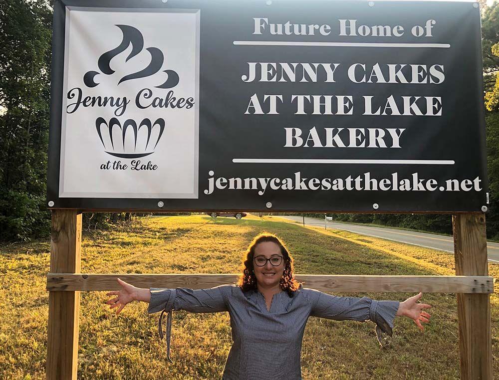 Jenny Cakes at the Lake Bakery