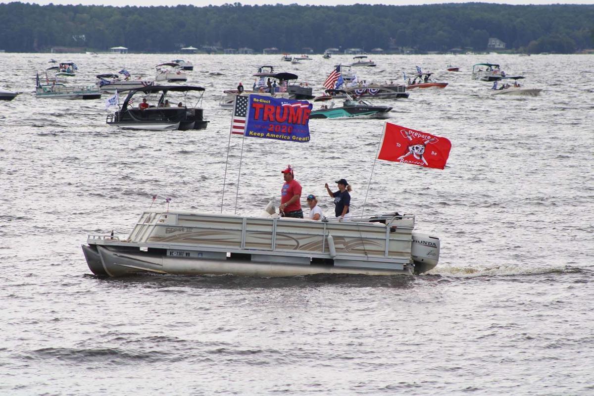 Flotilla parade