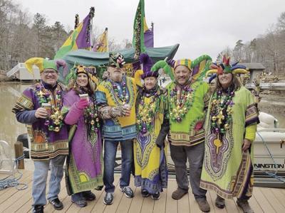 Lake Gaston celebrates Mardi Gras