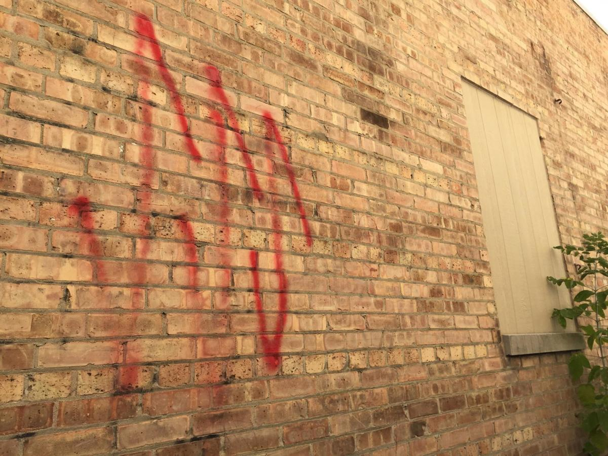 Anti-Semitic graffiti found on Racine synagogue, SSS