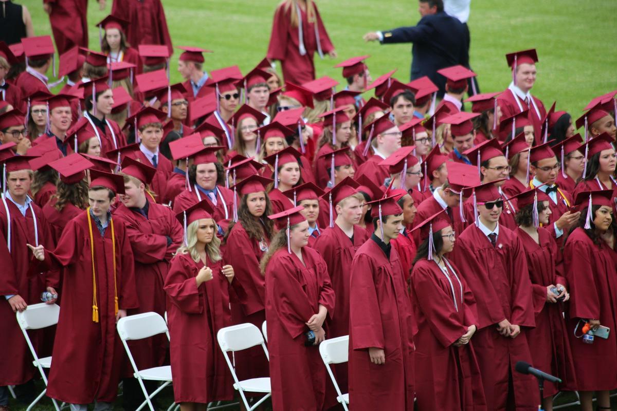 Badger High School graduates 2019