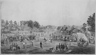 Baseball Civil War free stock image