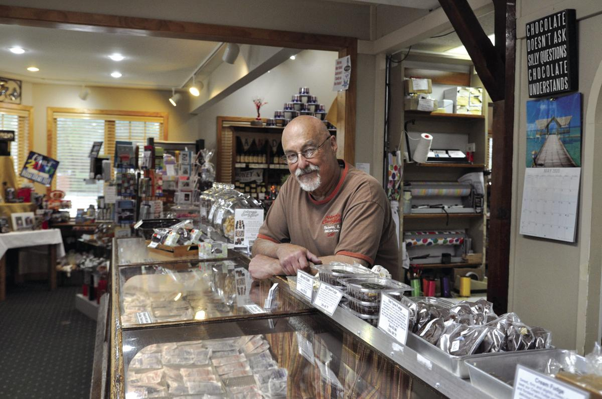 Leif Anderson in Anderson's Candy Shop