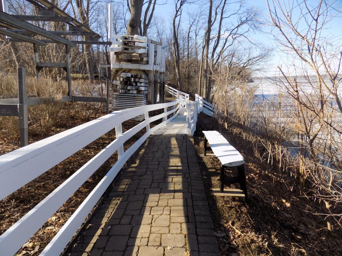 Lake shore path