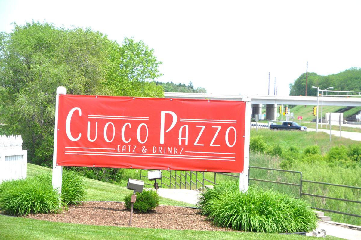 The Cuco Pazzo Eatz & Drinkz restaurant is now open for business in the former Red Geranium building