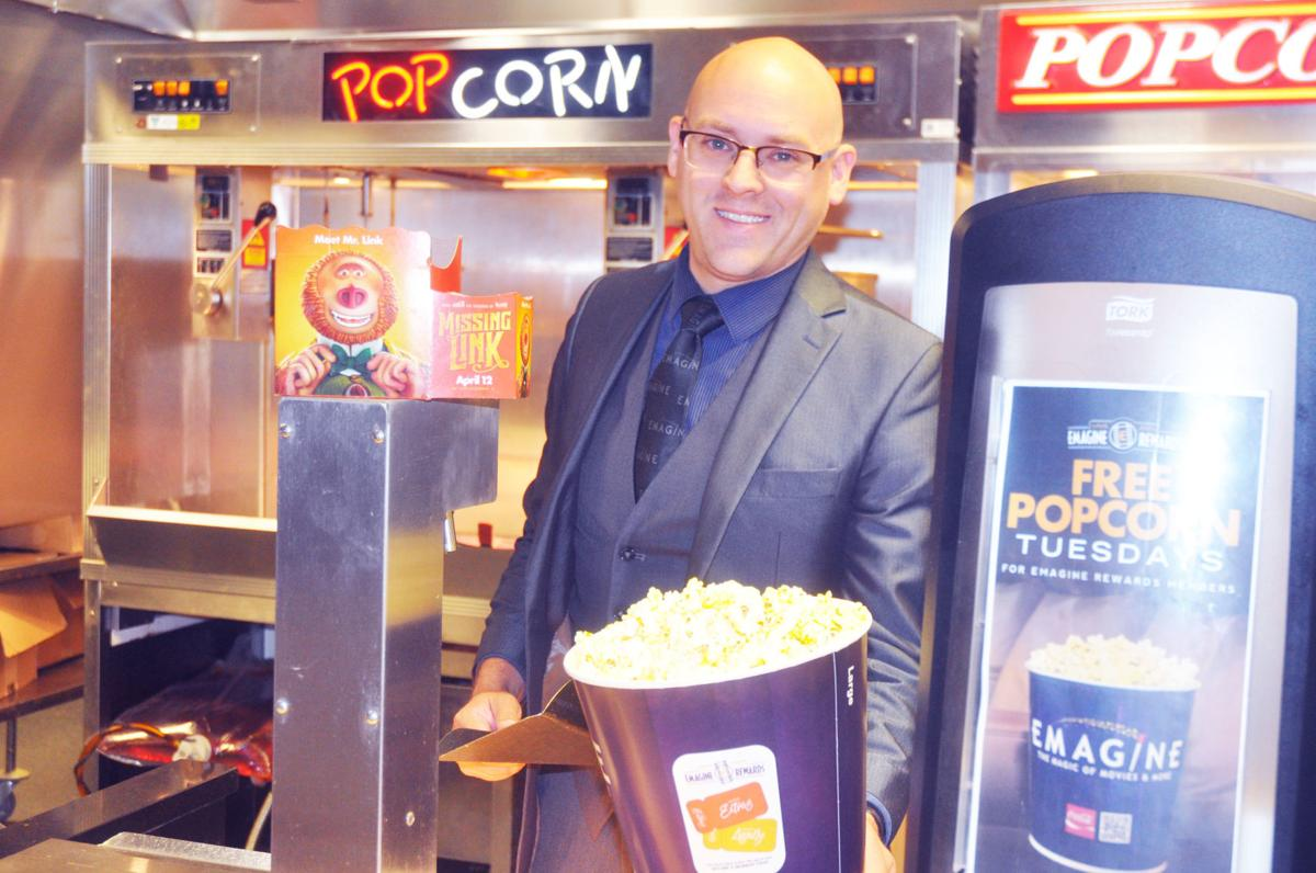Daniel Colwell, general manager for Emagine Geneva Lakes theater, said concession items