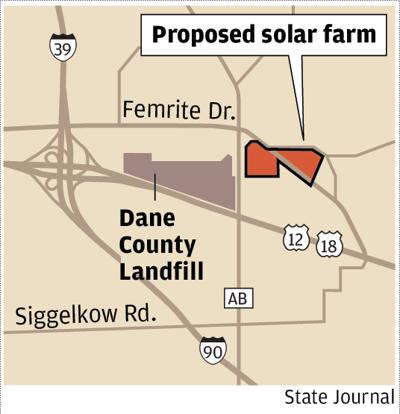 Proposed solar farm Dane County